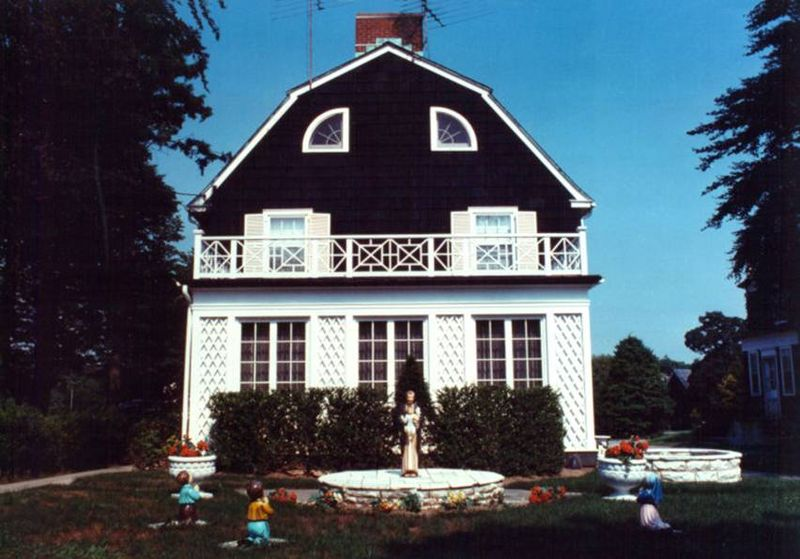 The Amityville House in 1973